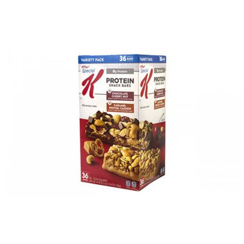 Kellogg's Special K Protein Trail Mix Bars Variety Pack, 1.23 oz, 30 Count