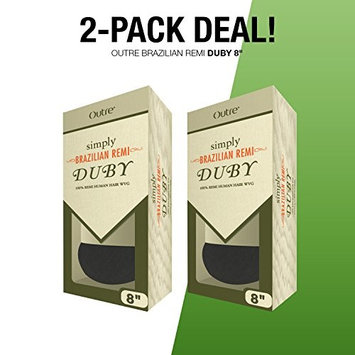 2-PACK DEALS ! Simply Remy Human Hair Weave Brazilian Remi Duby 8