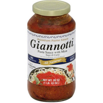 Gianotti 271093 Pasta Meat Sauce - 26 oz.