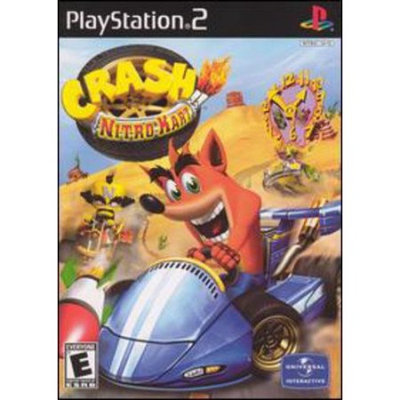 Vivendi 100604 Crash Nitro Kart Games PlayStation 2