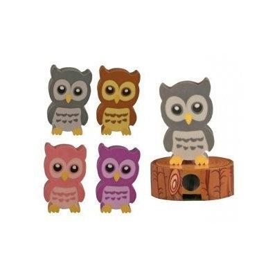 Streamline STREAMAER024 Owl Sharpener And Eraser