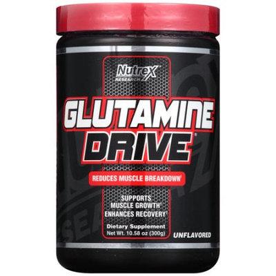 Nutrex Research Glutamine Drive Black Unflavored 5000 mg - 300 grams