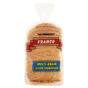Franco Caking Company Franco Multi-Grain Sliced Sourdough, 24 oz