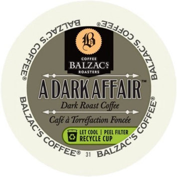 Mother Parker Balzac's Coffee Roasters Dark Affair, RealCup Portion Pack For Keurig Brewers