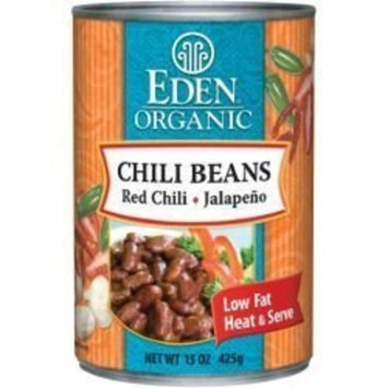 Chili Beans With Jalapeo Chili Peppers Organic - Bpa Free Lined Can (Pack of 12) - Pack Of 12