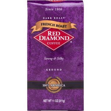 Red Diamond Coffee French Roast Dark Roast Ground Coffee, 11 oz
