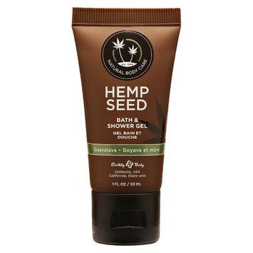 Earthly Body Eb Hemp Seed Shower Gel Guavalava 1Oz