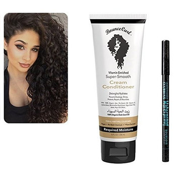 Bounce Curl Super Smooth Vitamin Enriched Cream Conditioner & Bourjois Black Waterproof Eyeliner