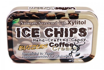 Ice Chips Coffee'n'Cream Xylitol Mints by Ice Chips Candy - 1 Tin