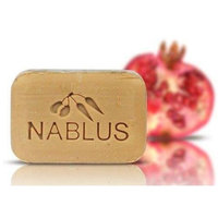 Natural Extra Virgin Olive Oil Soap Bar Pomegranate from Palestine Nablus Soap Natural For Dry Skin Care, Extra Gentle, Handmade 3.5 oz