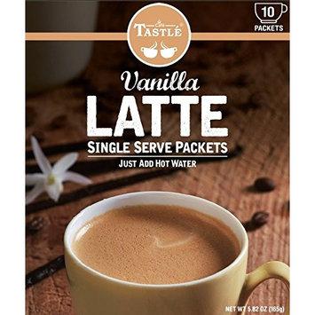 Cafe Tastlé Single Serve Vanilla Latte Coffee, 10 Count