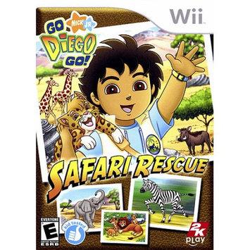 Take 2 Interactive Nintendo Wii Go, Diego, Go! Safari Rescue
