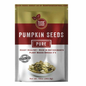 Raw Plain Pumpkin Seeds - Gluten Free, Kosher, Vegan, Healthy
