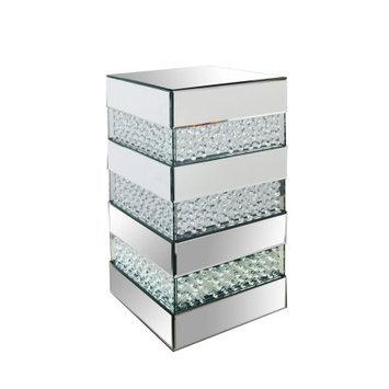 Best Quality Furniture Mirrored Pedestal