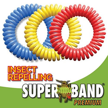 Evergreen Superband Premium Mosquito Repelling Wristband - 5 Pack