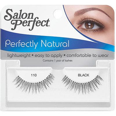 Salon Perfect Perfectly Natural Eyelashes, 110 Black, 1 pr