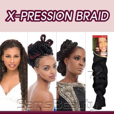 Sensationnel Synthetic Hair Braids XPRESSION Kanekalon Braid (8XPRESSION)