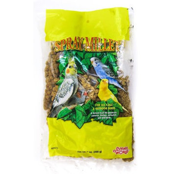 Living World Spray Millet Treat for Birds Size: 7 oz.