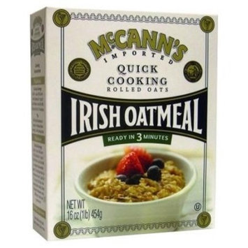 Mccann's Mccanns Oatmeal Quick Box, 16 OZ (Pack of 12)