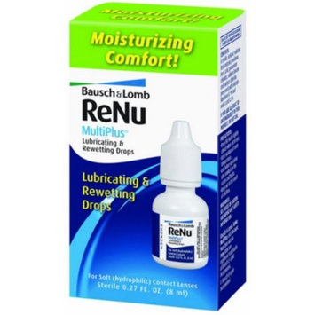 Bausch & Lomb ReNu MultiPlus Lubricating and Rewetting Drops, 0.27 Ounce Bottle Personal Healthcare / Health Care