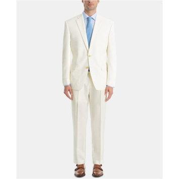 Men's UltraFlex Classic-Fit Twill Wool Suit Separates