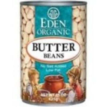 Eden Foods Butter Lima Beans 36x 15 Oz