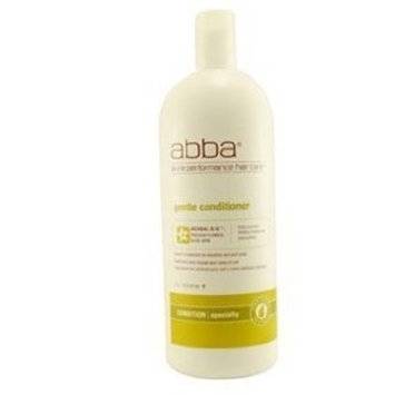 ABBA Pure & Natural Hair Care GENTLE CONDITIONER 33.8 OZ