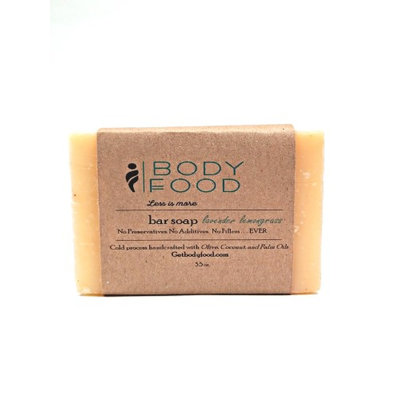 Body FoodBar Soap Peppermint Spearmint 3.5 oz
