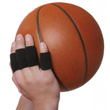 10 pcs Basketball Elastic Finger Support Protector Sleeve Wrap Black