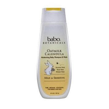 Babo Botanicals, OATMILK CALENDULA Moisturizing Baby Shampoo & Wash, 8 FL. OZ / 237 ml