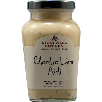 Stonewall Kitchen All Natural Aioli Cilantro Lime -- 10.25 oz