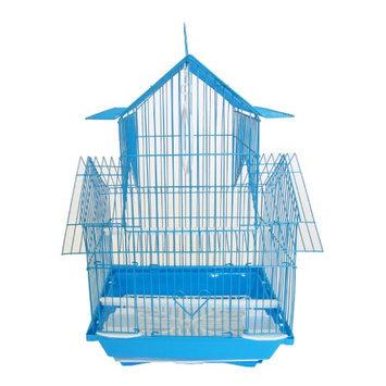 Yml Group YML Pagoda Flat Bird Cage Blue