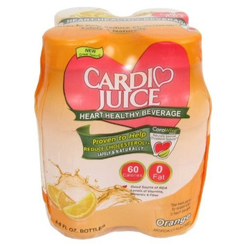 Cardio Juice, Orange 4pack