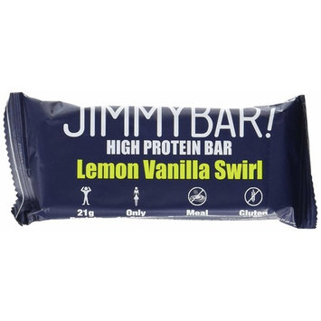 JiMMYBAR 'Lemon Vanilla Swirl' Protein Bar, 2.05 oz, Pack of 12