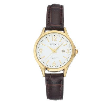 Armitron Ladies Brown Strap Watch