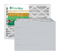 AFB Gold MERV 11 12x15x4 Pleated AC Furnace Air Filter. Filters. 100% produced in the USA. (Pack of 6)