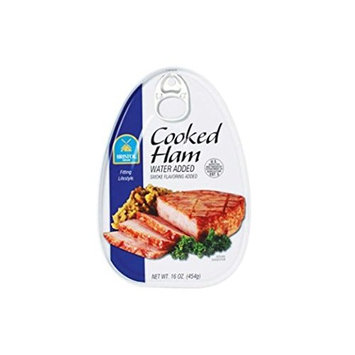 Cooked Ham (Smoke Flavoring) - 16oz (Pack of 3)