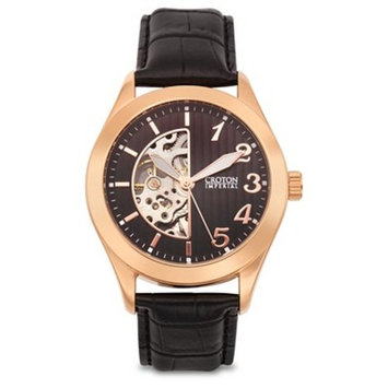 Croton Men's Stainless Steel Wristwatch - Silver