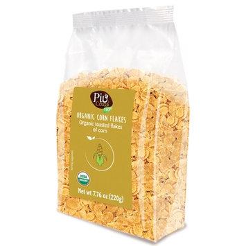 Lameri Cereal, Organic Corn Flakes (No Sugar), 7.05 oz, Pack of 6
