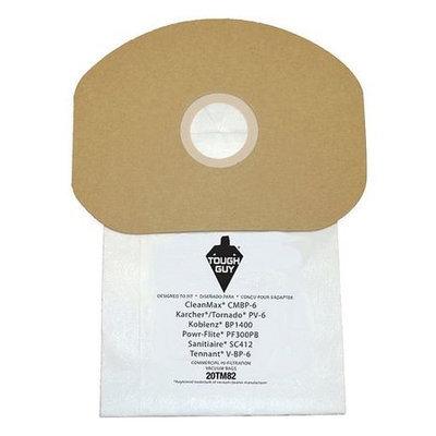 TOUGH GUY 20TM82 Filter Bag,2-Ply, Paper, PK10