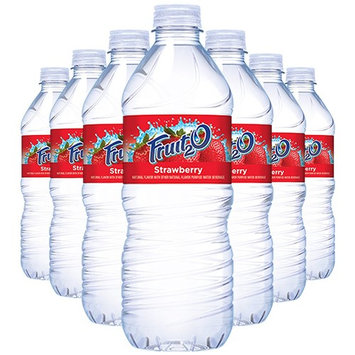 Fruit2o Strawberry Flavored Water, 16.9 oz Plastic Bottles