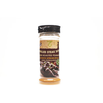 Iya Foods Llc Grilled Steak African Suya Seasoning with Roasted Peanuts â 2.82 OZ
