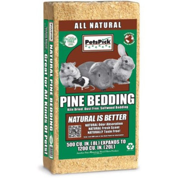 PetsPick™ All Natural Pine Bedding 500 cu. in. Pack