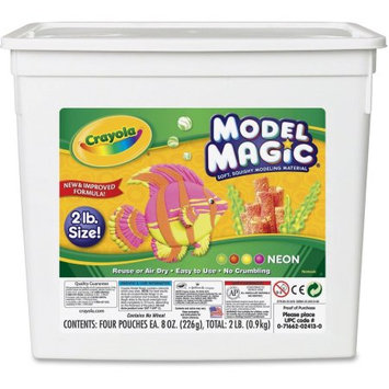 Crayola Llc Crayola Neon Modeling Clay - 1/EA