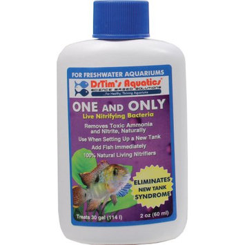 Topdawg Pet Supplies Dr Tims Aquatics ADT01000 One And Only Freshwater 2Oz