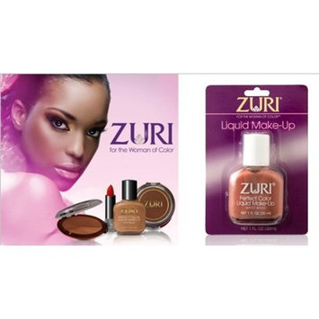 [VALUE PACK OF 3] ZURI Liquid Make Up 1OZ [BLUSH BROWN] : Beauty