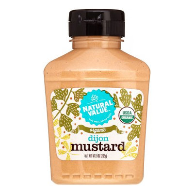 Natural Value Dijon Mustard, 9 Oz