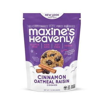 Maxine's Heavenly - Vegan, Gluten Free, Soy Free, Non-GMO - Cinnamon Oatmeal Raisin Cookies [8]