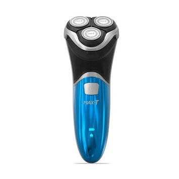 MAX-T Electric Shaver USB Charge Rotary Shaving Razor with Pop-Up Trimmer 100% Waterproof Wet & Dry Shave (with Adapter Charger)