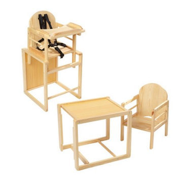 Primo Baby PRI-408 POPPY PLUS DELUXE- NATURAL BEECH COLOR WOOD